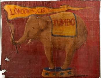 19th Century English School/Portrait of Jumbo the