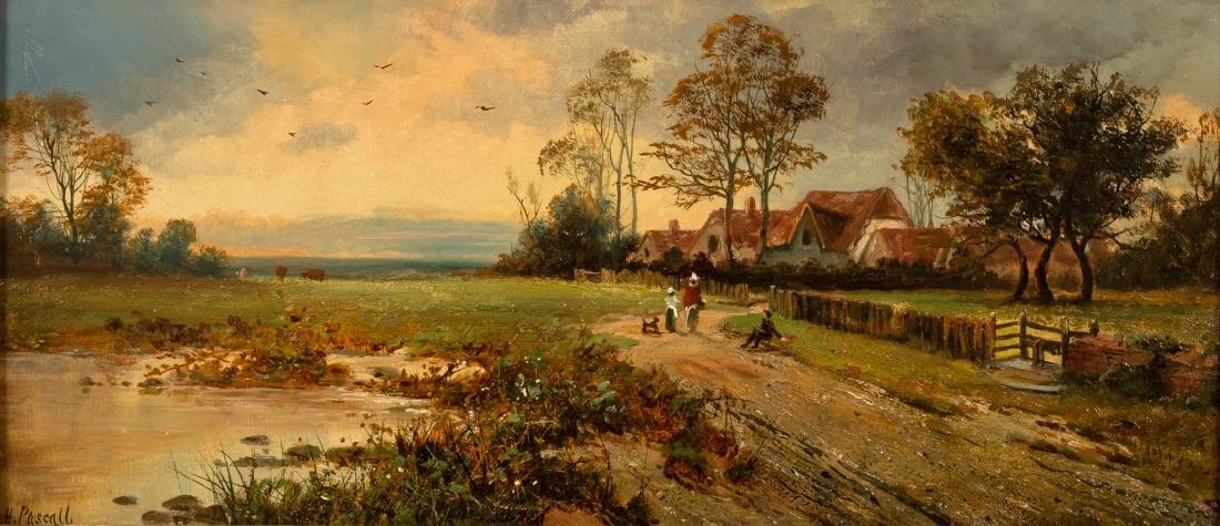H Pascall (Edward H Niemann act. 1863-1887)/Figures on