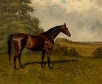 James Clark (British 1858-1943)/Hunter in a