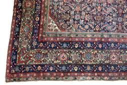 A large Fereghan carpet, circa 1900, the blue herati