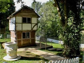 The Prinknash Bird Park Wendy House, the timber framed