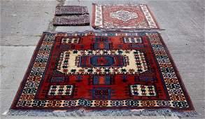 A Turkish rug of Kazak design 199cm x 163cm a