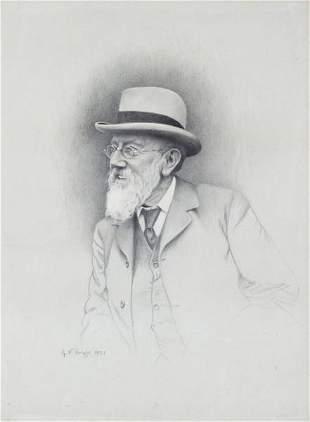 G V BrightPortrait of Henry William Bruton