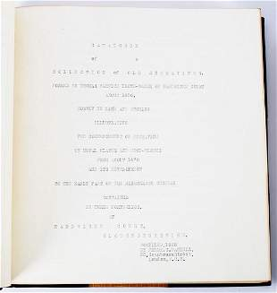 Daniell F C catalogue of the LloydBaker Collection