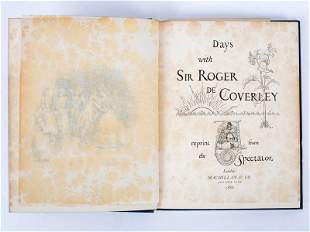 Steele R and others Days with Sir Roger de Coverley