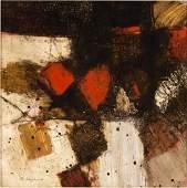 David Hazelwood (British 1932-1994)/Abstract with