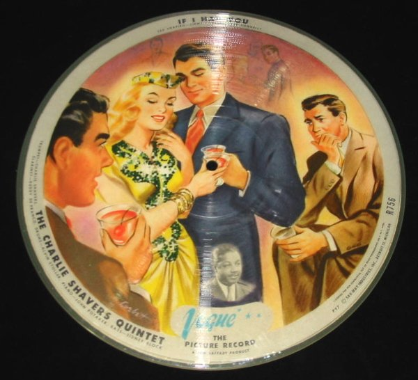 """14: 78 Vinyl Picture Record """"If I Had You"""""""