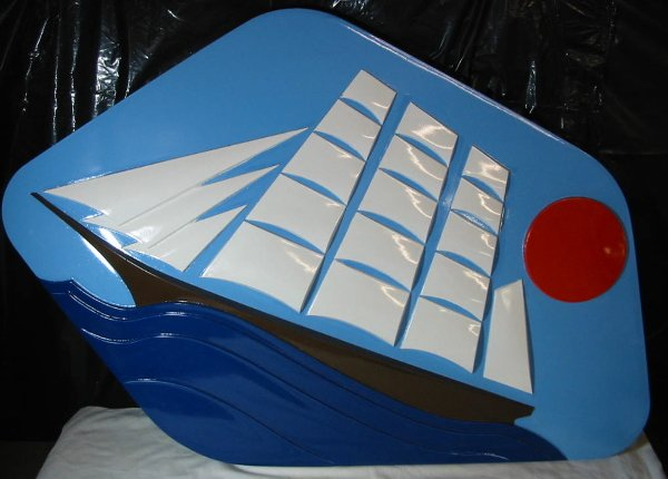 """24: PAN AM """"Maid of the Seas"""" Plaque"""