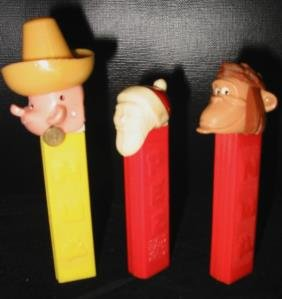 PEZ Collection Lot Of 3