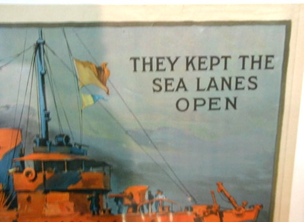 37: WWI Poster Sea Lanes Open - 3