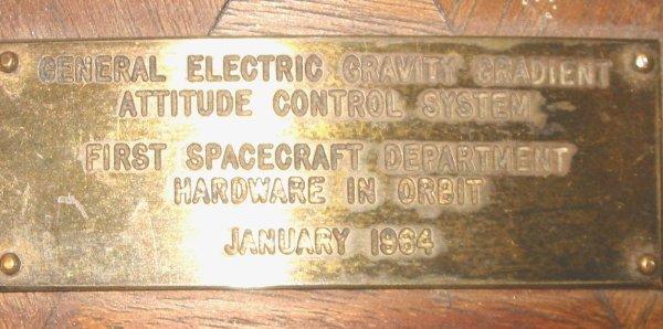 38: GE Module 1964 Nasa Space Apollo - 3