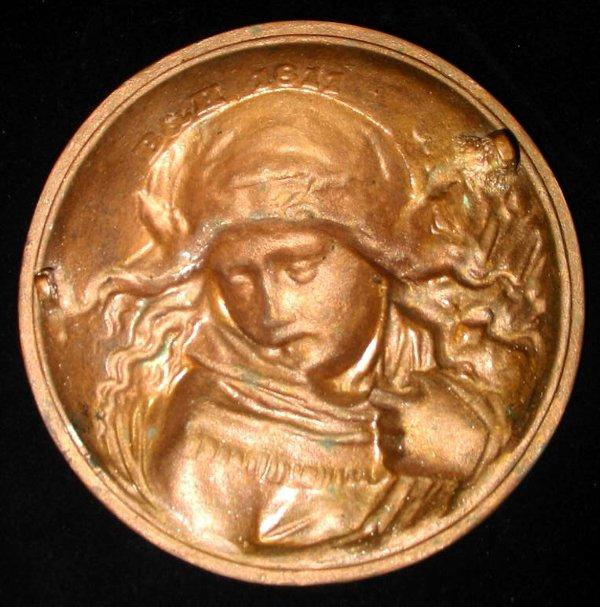 41: Bronze Girl B & H bradley Hubbard - 2