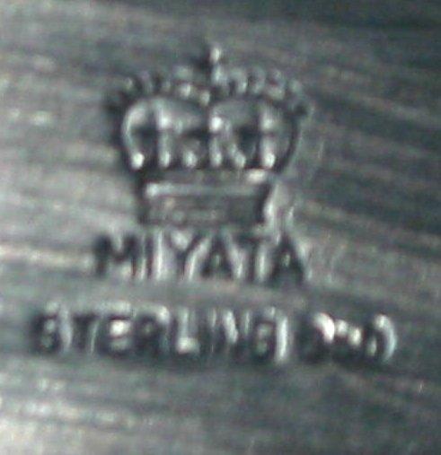 "42: 24"" Sterling Silver Platter, Miyata - 4"