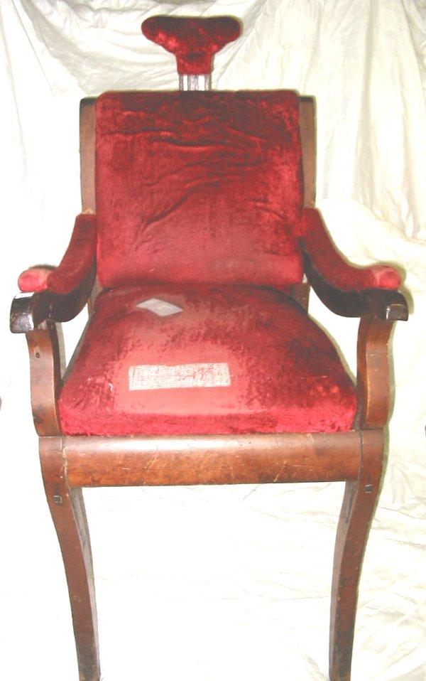 47: Early Antique Dentist Chair Dental Chair - 2