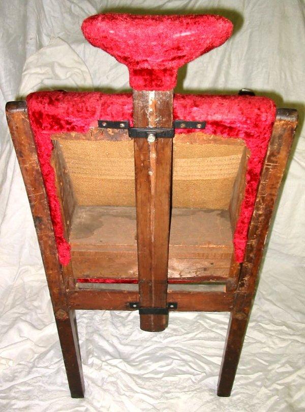 47: Early Antique Dentist Chair Dental Chair - 3