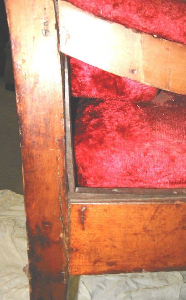 47: Early Antique Dentist Chair Dental Chair - 4