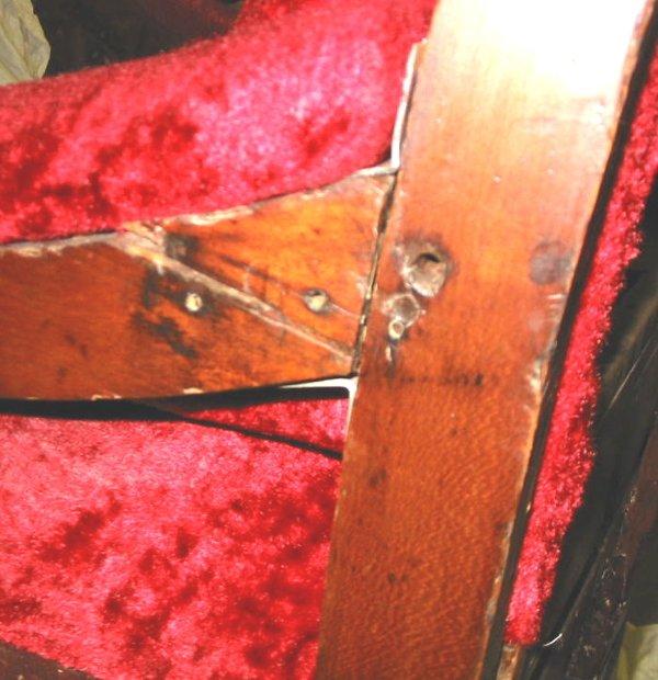 47: Early Antique Dentist Chair Dental Chair - 5