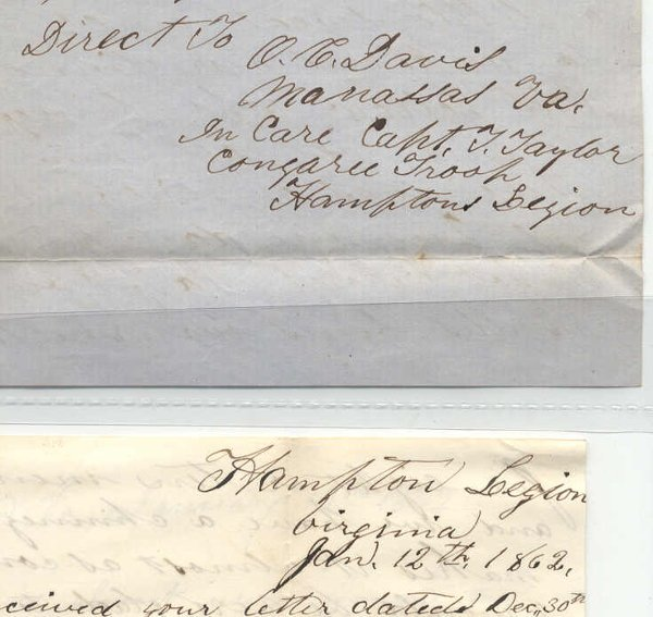 84: Civil War Letters - 4