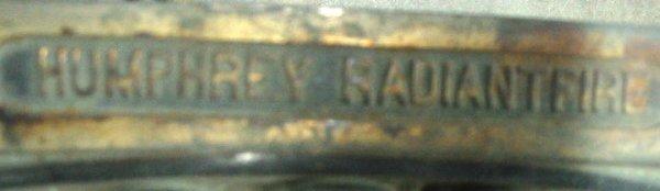 99: Humphrey Fire place Heater insert - 2
