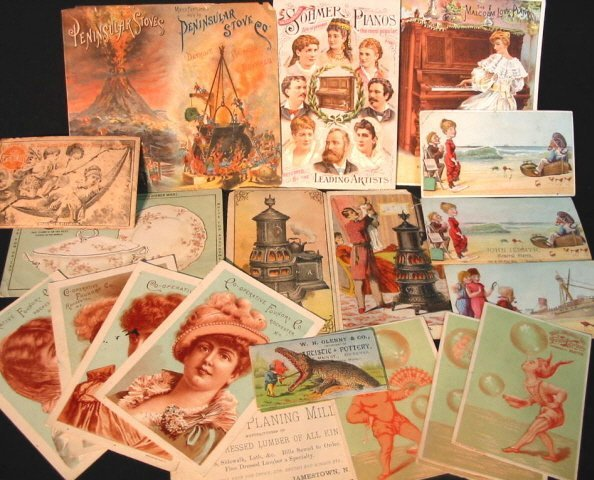 5: Victorian Trades cards - approx. 20