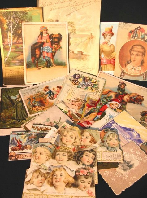6: approx. 30 Victorian Trade Cards & Advertising