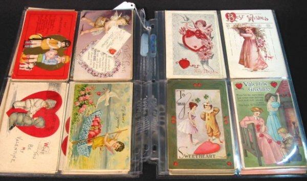 7: 42 nice Valentine Postcards