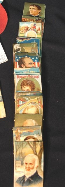 18: Large lot Trade Cards calling cards etc
