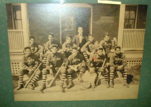 21: NY Lima/Geneseo Baseball team photo