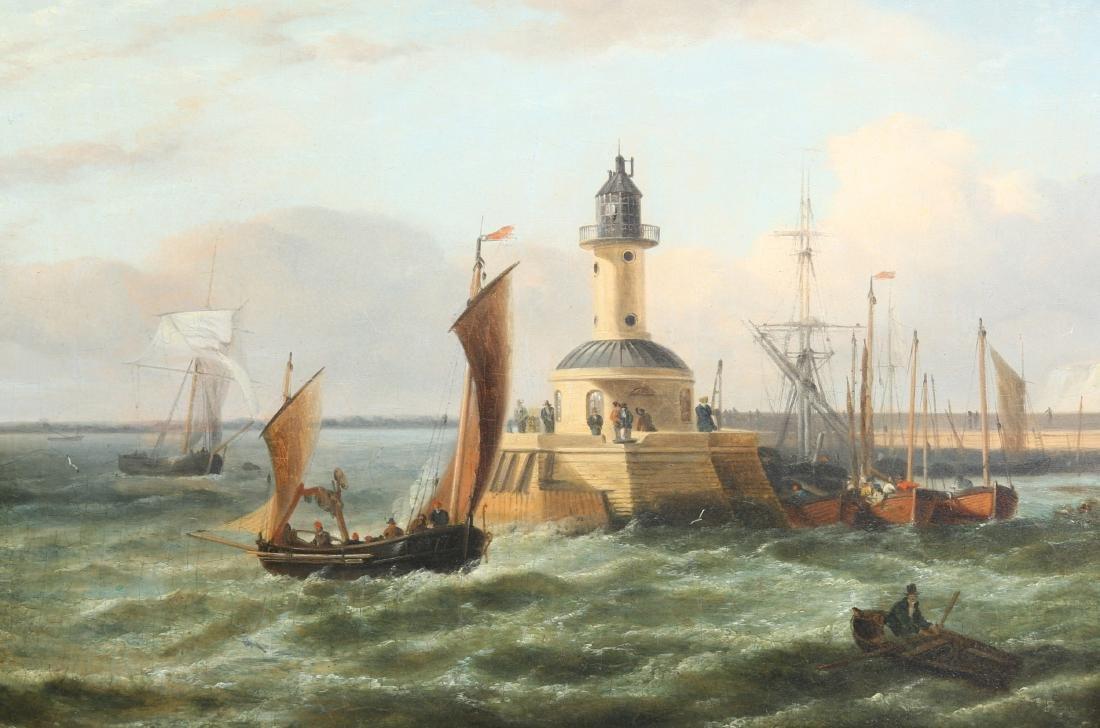 ENGLISH SCHOOL (19TH CENTURY), DUTCH SHIPPING SCENES, A