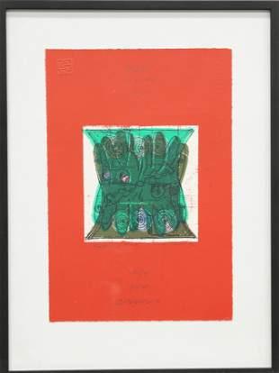 GORDON HOUSE (1932-2004), TRADESCANT HANDS, artist's