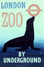 RONALD (RON) MCNEILL (1932-2020), LONDON ZOO BY