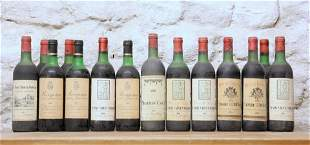 14 BOTTLES MIXED LOT MATURE FINE CLARET TO INCLUDE
