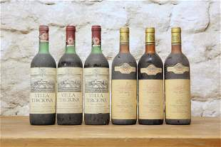 6 BOTTLES MIXED LOT MATURE CHIANTI CLASSICO AND