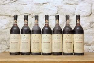 7 BOTTLES CASTELLO VOLPAIA CHIANTI CLASSICO RISERVA