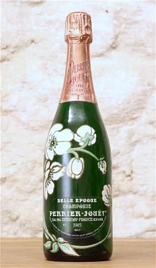 1 BOTTLE CHAMPAGNE PERRIER JOUET 'LA BELLE EPOQUE' 1985