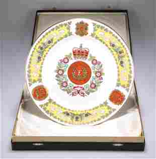 THE GORDON HIGHLANDERS PLATE BY SPODE FOR MULBERRY HALL