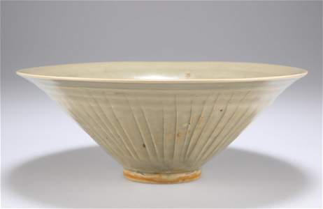 A NORTHERN SONG-JIN DYNASTY YAOZHOU CELADON MOULDED
