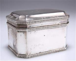AN EDWARD VIII SILVER BISCUIT BOX,byWilliam