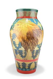 SALLY TUFFIN, A LARGE DENNIS CHINA WORKS VASE,