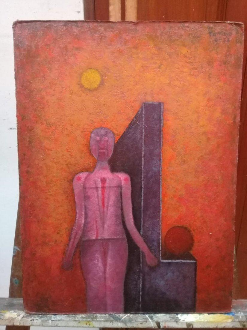 Rufino Tamayo - Oil on canvas