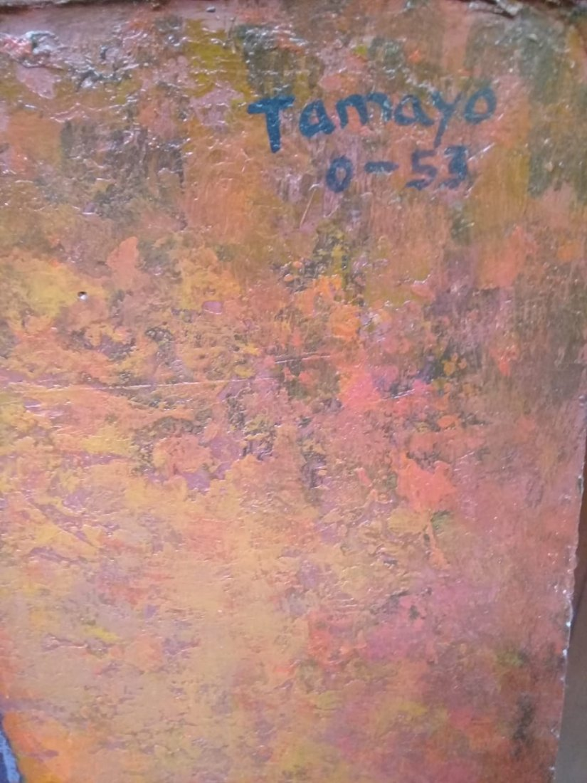 Rufino Tamayo - Oil on canvas - 2