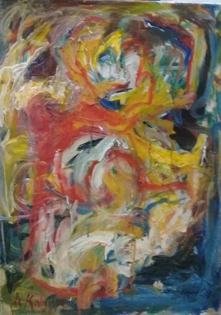 Atributed Willem De Kooning - Oil on canvas