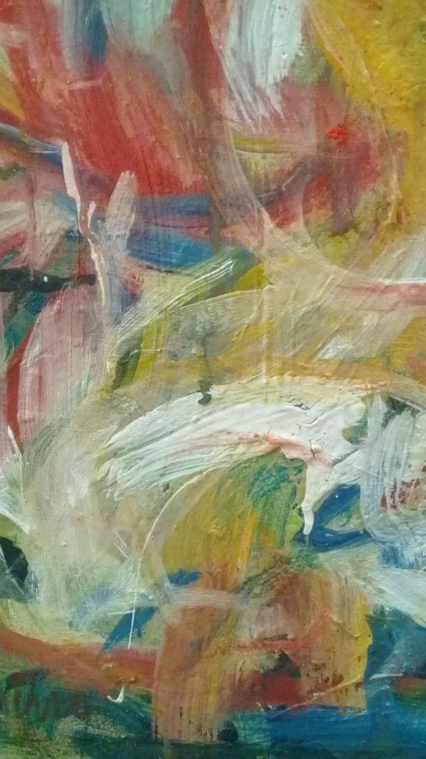 Atributed Willem De Kooning - Oil on canvas - 4