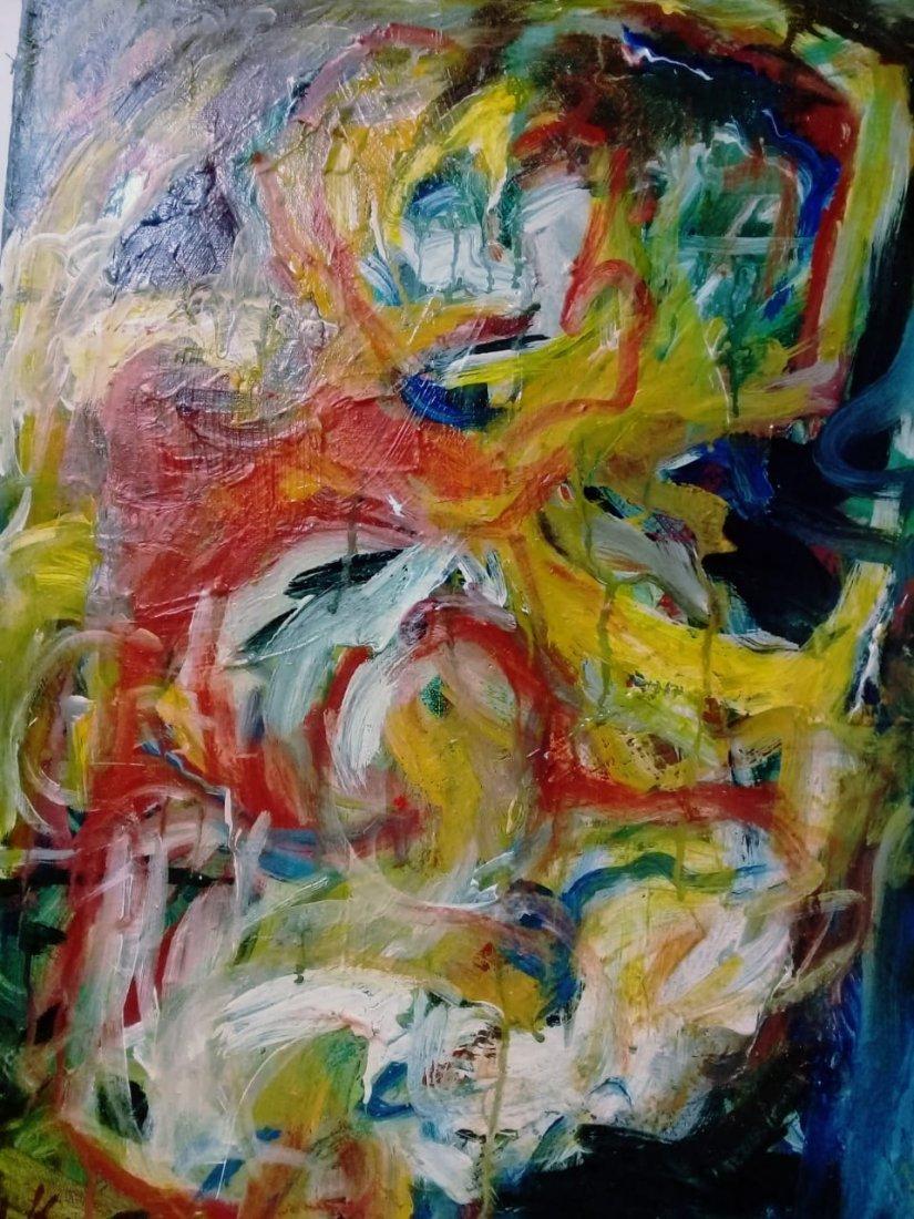 Atributed Willem De Kooning - Oil on canvas - 5