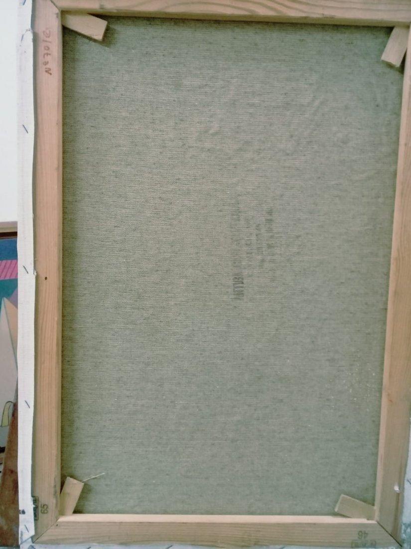 Atributed Willem De Kooning - Oil on canvas - 6
