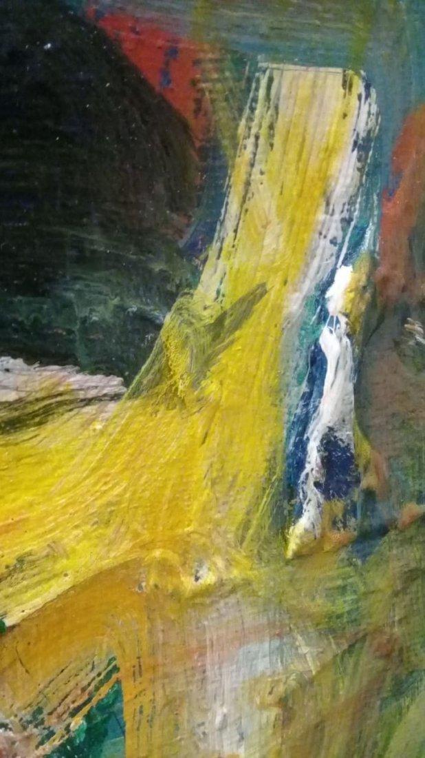 Atributed Willem De Kooning - Oil on canvas - 7