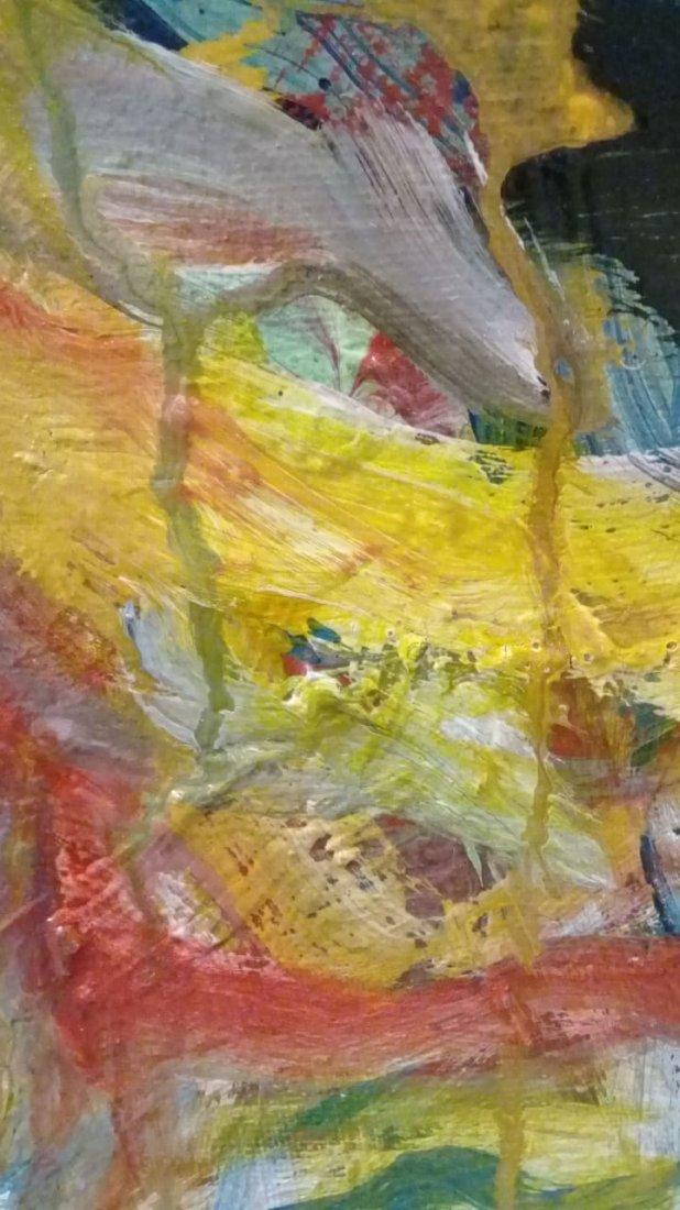 Atributed Willem De Kooning - Oil on canvas - 8