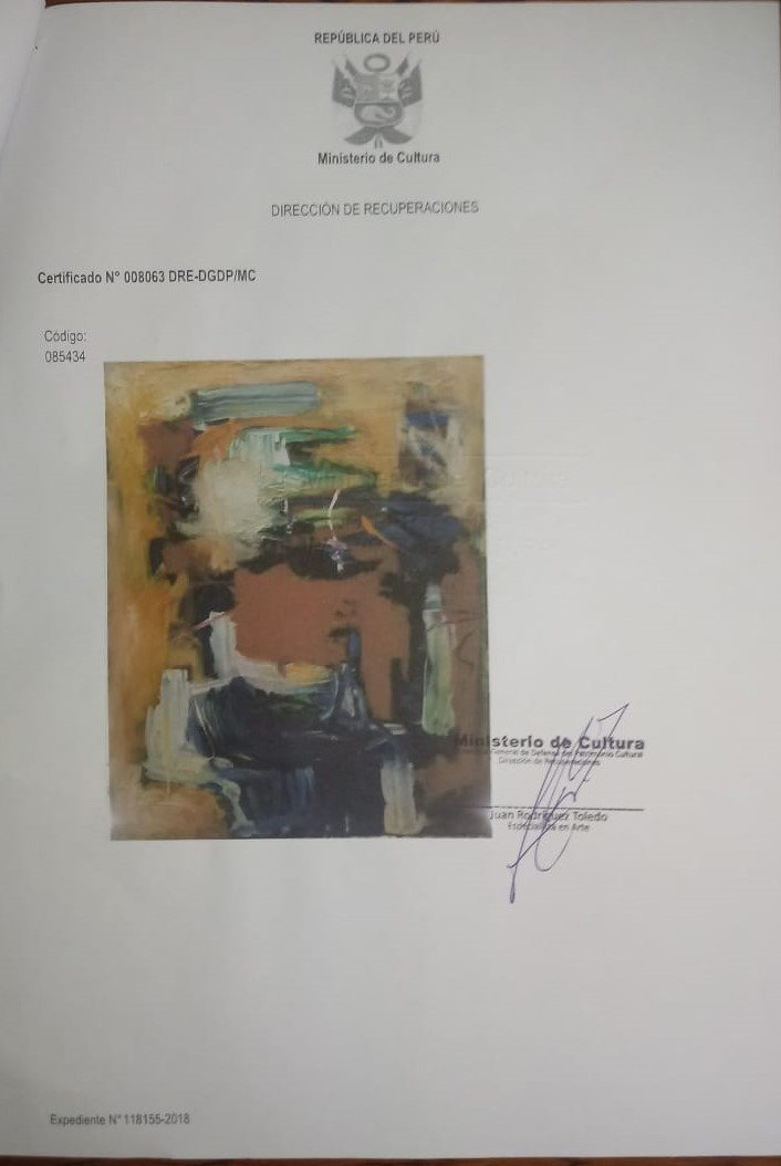 American Abstract Artist Joan Mitchell - oil on canvas - 10