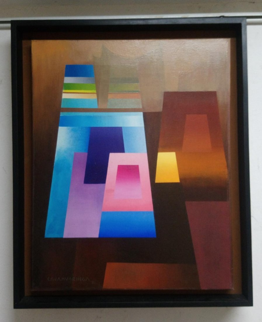 Master Milner Cajahuaringa - Oil on canvas / signed