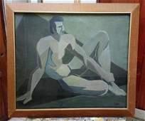 Luis Lizares - Cubism Master Oil canvas painting